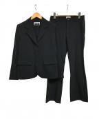 ISSEY MIYAKE FETE(イッセイミヤケフェット)の古着「セットアップスーツ」 ブラック