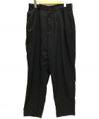 Dulcamara(ドゥルカマラ)の古着「よそいきオーバータックパンツ/18AW」 ブラック
