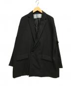 Dulcamara(ドゥルカマラ)の古着「18AW/よそいきダブルブレストジャケット」 ブラック