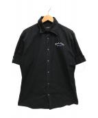 ()の古着「半袖シャツ」 ブラック
