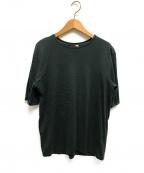 ATON(エイトン)の古着「Tシャツ」 グリーン