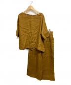 Comptoir des Cotonniers(コントワー・デ・コトニエ)の古着「セットアップブラウス」|ブラウン