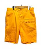 Engineered Garments(エンジニアドガーメンツ)の古着「グルカショートパンツ」|オレンジ
