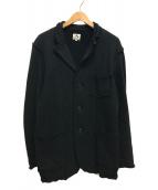 ()の古着「スウェット2Bテーラードジャケット 凡」|ブラック