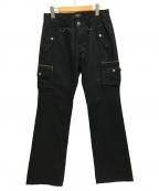 BURBERRY BLACK LABEL(バーバリーブラックレーベル)の古着「カーゴパンツ」 ブラック