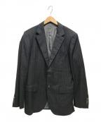 Brilla per il gusto(ブリッラ ペル イルグースト)の古着「ストライプ2Bジャケット」|ネイビー