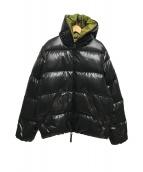 ()の古着「DIONISIO/ダウンジャケット」|ブラック×グリーン