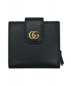 ()の古着「GGプチマーモント2つ折り財布」 ブラック