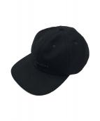 ()の古着「ステンシルロゴトラッカーキャップ」 ブラック