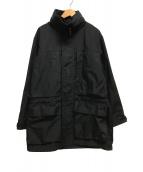 ()の古着「撥水ミリタリージャケット」 ブラック