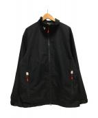 ()の古着「エスペリジャケット ロゴ」|ブラック