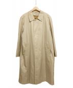 ()の古着「ライナー付ステンカラーコート ノバチェック」|ベージュ