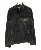 MOUNTAIN HARD WEAR(マウンテンハードウェア)の古着「フリースジャケット」 ブラック