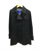 BURBERRY BLUE LABEL()の古着「シングルトレンチコート」|ブラック