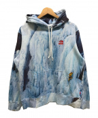 SUPREME×THE NORTH FACE(シュプリーム ×ザノースフェイス)の古着「21SS/Ice Climb Hooded Sweatshi」 ブルー