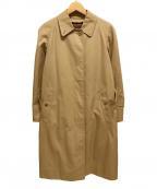 Burberry's(バーバリーズ)の古着「ノバチェックライナー付ステンカラーコート」|ベージュ