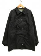 Engineered Garments()の古着「ライナー付Pコート ダブルジャケット」|ブラック