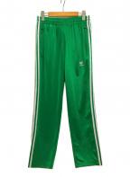adidas(アディダス)の古着「サイドライントラックパンツ」|グリーン