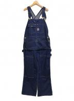 TCB jeans(ティーシービー ジーンズ)の古着「エプロン付きダブルニーオーバーオール」|インディゴ