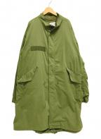 FREAK'S STORE(フリークスストア)の古着「20AW/M-65ライナー付ビックシルエットモッズコート」|オリーブ