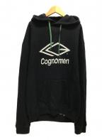 COGNOMEN(コグノーメン)の古着「21AW/FOOTBALL HOODIE」|ブラック