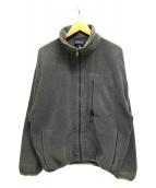 ()の古着「98年製/シンチラフリースジャケット」 グレー
