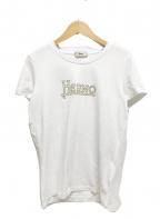 HERNO(ヘルノ)の古着「ロゴTシャツ」|ホワイト