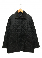 LAVENHAM()の古着「キルティングジャケット」 ブラック