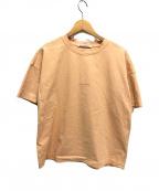 Acne studios(アクネストゥディオズ)の古着「18SS STELLIEロゴTシャツ」 オレンジ