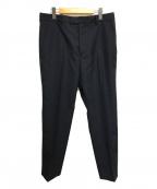 OAMC(オーエーエムシー)の古着「Dark Grey Idol Pants スラックス パンツ」|ネイビー