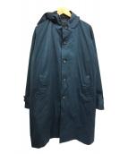 ()の古着「フーデッドコート オーバーサイズ」|グリーン