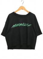 ()の古着「CROPPED T-SHIRT ロゴ Tシャツ」|ブラック