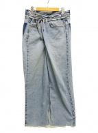 ()の古着「VINTAGE REWORK BIGGY PANTS」|インディゴ