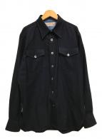 ()の古着「ANCHOR 長袖シャツ」|ネイビー