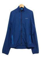 ()の古着「トラバースジャケット ロゴ」|ブルー