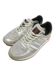 adidas (アディダス) LA TRAINER スニーカー シルバー サイズ:27.5cm