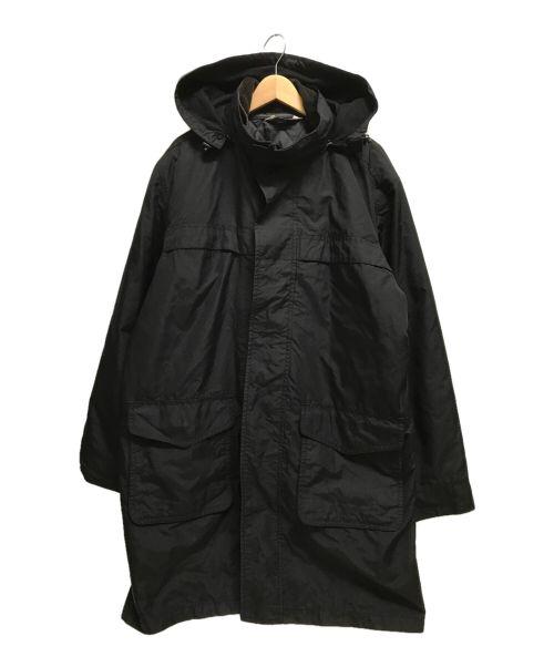 Eddie Bauer(エディーバウアー)Eddie Bauer (エディーバウアー) キルティングライナー付コート ブラック サイズ:XLの古着・服飾アイテム