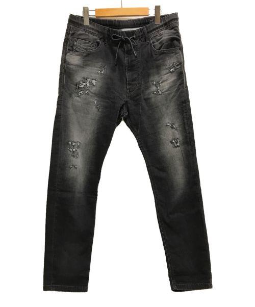 DIESEL(ディーゼル)DIESEL (ディーゼル) ジョグジーンズ グレー サイズ:W30の古着・服飾アイテム