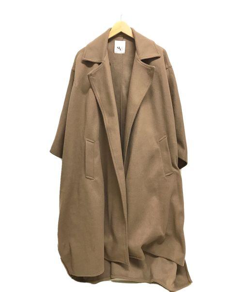 STYLE MIXER(スタイルミキサー)STYLE MIXER (スタイルミキサー) オーバーサイズポンチョコート ベージュ サイズ:FREEの古着・服飾アイテム