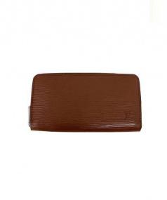 LOUIS VUITTON(ルイ・ヴィトン)の古着「ラウンドファスナー財布」|カカオ