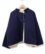 GALLEGO DESPORTES(ギャレゴデスポート)の古着「ボアジャケット」|ネイビー