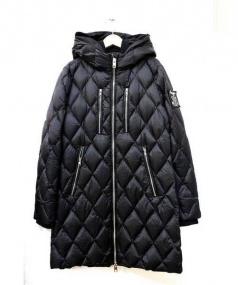 DIESEL(ディーゼル)の古着「キルティングダウンコート」|ブラック