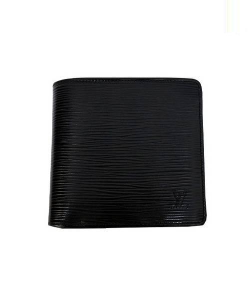 f2bc6b289d1e ... 2つ折り財布 ブラック エピ M60612 SP0069 ポルトフォイユマルコ. LOUIS VUITTON