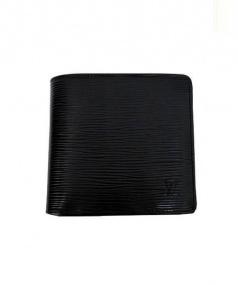 LOUIS VUITTON(ルイ・ヴィトン)の古着「2つ折り財布」|ブラック