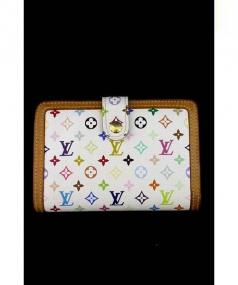 LOUIS VUITTON(ルイ・ヴィトン)の古着「がま口2つ折り財布」|ホワイト
