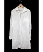 Frank&Eileen(フランクアンドアイリーン)の古着「シャツワンピース」|ホワイト