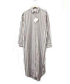 DRESSTERIOR(ドレステリア)の古着「ワイドシャツワンピース」|ベージュ×ホワイト
