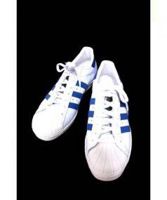 adidas originals(アディダスオリジナル)の古着「ローカットスニーカー」 ホワイト×ブルー