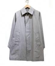 GRENFELL(グレンフェル)の古着「ステンカラーコート」 グレー