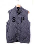 Engineered Garments×SOPHNET(エンジニアードガーメンツ×ソフネット)の古着「コラボキルティングベスト」|グレー